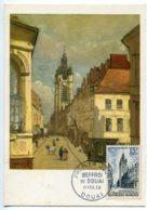 10143  FRANCE N° 1051  Beffroi De Douai  PJ   Du 11.2.56  TB - Maximum Cards