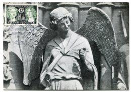 10148  FRANCE N° 1061  Jumelage Reims-Florence   PJ   Du 5.5.56  TB - Maximum Cards