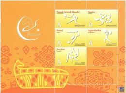 Turkmenistan.2017 Asian Sport Games (Tennis,Sambo, Football ,Weightllifing,Jiu-jitsu. M/S - Turkménistan