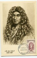 10152  FRANCE N° 1083  Jean-Baptiste De Lulli   PJ   Du 10.11.56  TB - Maximum Cards