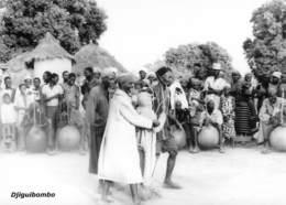 MALI  DJIGUIBOMBO Danse Initiatique  Village DOGON Du 22 Septembre 1961  Ed Larmes De Fruits Sauvages Boite Bois 1 - Mali