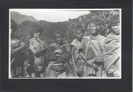CPA BURMA Carte Photo RPPC Types Non Circulé - Postcards