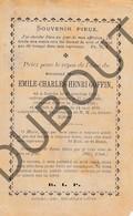 Doodsprentje Pater/Frère Emile-Charles-Henri Goffin °1865 Jauche †1890 Jauche (F132) - Décès