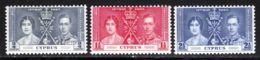 Chypre 1937 Yvert 131 / 133 ** TB - Cyprus (...-1960)