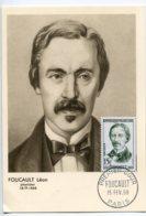 10157  FRANCE N° 1148  Léon FOUCAULT    PJ   Du 15.2.58  TB - Maximum Cards
