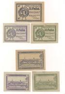 6 Notgeldscheine - 3 X Obernberg Am Inn + 3 X Oberkappel - Siehe Bilder - Autriche