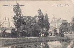 Tienen, Thienen, Tirlemont, Unieke Kaart Park Saint-Georges Verzonden Naar Rusland In 1907, TOP!!!!! - Tienen