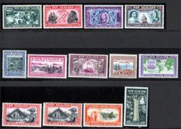 Nouvelle-Zelande 1940 Yvert 243 / 255 ** TB - 1907-1947 Dominion