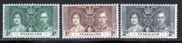Nyasaland 1937 Yvert 56 / 58 ** TB - Nyassaland (1907-1953)
