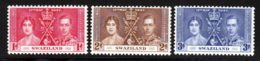 Swaziland 1937 Yvert 24 / 26 ** TB - Swaziland (...-1967)