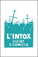 Carte Postale L'INTOX VIENT A DOMICILE Affiche Mai 68 Postcard May 1968 6/7 - Evènements