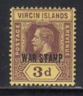 Iles Vierges 1916 Yvert 47 ** TB - British Virgin Islands