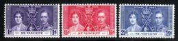 Saint Vincent 1937 Yvert 118 / 120 ** TB - St.Vincent (...-1979)
