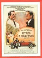 CINEMA-CARTOLINA MANIFESTO FILM-INTRIGO A HOLLIWOOD-BRUCE WILLIS-JAMES GARDNER-MALCOLM MCDOWELL-PATRICIA HODGE - Manifesti Su Carta