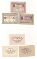 6 Notgeldscheine - 3 X Peterskirchen + 3 X Parz - Siehe Bilder - Autriche