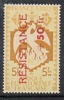 A.E.F. N°178 N**  FRANCE LIBRE, LUXE - A.E.F. (1936-1958)