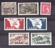 Sarre - Lot De Timbres Neufs * -  Cote 28 - Saargebiet