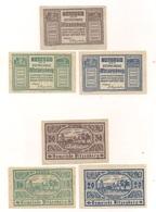 6 Notgeldscheine - 3 X Pitzenberg + 3 X Peuerbach - Siehe Bilder - Autriche