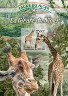 Niger 2013, Animals, Giraffes, BF - Niger (1960-...)