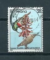 1982 Botswana Birds,oiseaux,vögel 2t Used/gebruikt/oblitere - Botswana (1966-...)