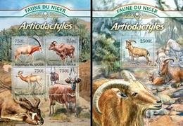 Niger 2013, Animals, Hoofed Animals, 4val In BF +BF - Niger (1960-...)