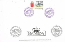 30752. Tarjeta MADRID 1988. XX Feria Sello - 1931-Hoy: 2ª República - ... Juan Carlos I