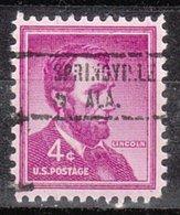 USA Precancel Vorausentwertung Preo, Locals Alabama, Springville 734 - Vereinigte Staaten