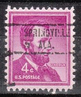 USA Precancel Vorausentwertung Preo, Locals Alabama, Springville 734 - Etats-Unis