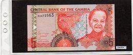 Banconota Gambia 5 Dalasis - Gambie