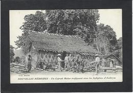 CPA Nouvelles Hébrides Vanuatu Trafiquant Non Circulé - Unclassified