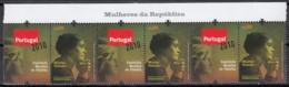 2009 (AF 3896A) - S009 - Mulheres Da República - (Tira Com 3 Selos) - 1910 - ... Repubblica
