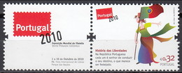 2010 (AF 4027A) - S010 - História Das Liberdades - 1910 - ... Repubblica