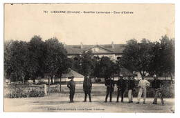 33 GIRONDE - LIBOURNE Quartier Lamarque, Cour D'entrée - Libourne