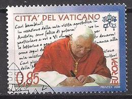 Vatikan  (2008)  Mi.Nr.  1602  Gest. / Used  (6ad54)  EUROPA - Vatikan