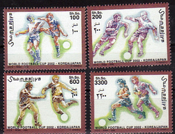 SOMALIE   N° 812/15  * *  ( Cote 20.50e )  Cup 2002  Football  Fussball Soccer - Coupe Du Monde