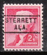 USA Precancel Vorausentwertung Preo, Locals Alabama, Sterrett 729 - Etats-Unis