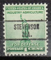 USA Precancel Vorausentwertung Preo, Locals Alabama, Stevenson 734 - Etats-Unis