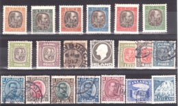 Islande - Lot De Timbres Anciens Neufs Et Oblitérés - Cote 188 - Timbres