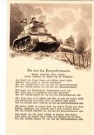 Totenkopfflagge Auf Panzer, Liedkarte - Weltkrieg 1939-45
