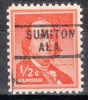 USA Precancel Vorausentwertung Preo, Locals Alabama, Sumiton 729 - Vereinigte Staaten