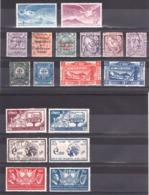 Irlande - Eire - Timbres Anciens Neufs * Et  Oblitérés - Des Séries Complètes - Cote 97 - Timbres