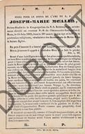 Doodsprentje Pater/Frère Joseph-Marie Moeller °1834 †1862 Mons (F140) - Décès