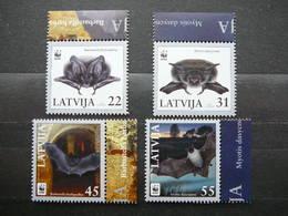 WWF. Bats  # Latvia Lettland Lettonie 2008 MNH #Mi. 727/0 - Lettonie