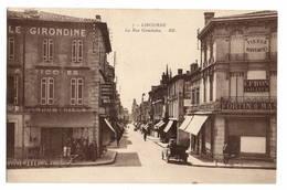 33 GIRONDE - LIBOURNE La Rue Gambetta - Libourne