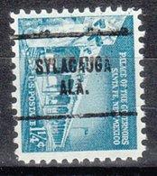USA Precancel Vorausentwertung Preo, Locals Alabama, Sylacauga 704 - Etats-Unis