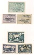 6 Notgeldscheine - 3 X Putzleinsdorf + 3 X Persenbeug - Siehe Bilder - Autriche