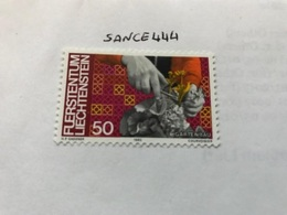 Liechtenstein Definitives Professions 50f 1982  Mnh - Liechtenstein