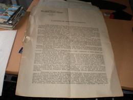 Kraljevina SHS  Ministrastvo Trgovine I Industrije  Beograd 1919 Narodnom Predstavnistvu Ministar Dr V S Veljkovic - Documenti Storici