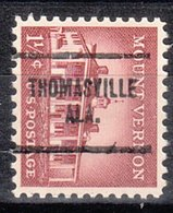USA Precancel Vorausentwertung Preo, Locals Alabama, Thomasville 704 - Etats-Unis