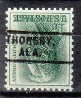 USA Precancel Vorausentwertung Preo, Locals Alabama, Thoesby 731 - Etats-Unis